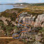 Bruk av foto og grafikk til en prosjektbeskrivelse på en planlagt tursti